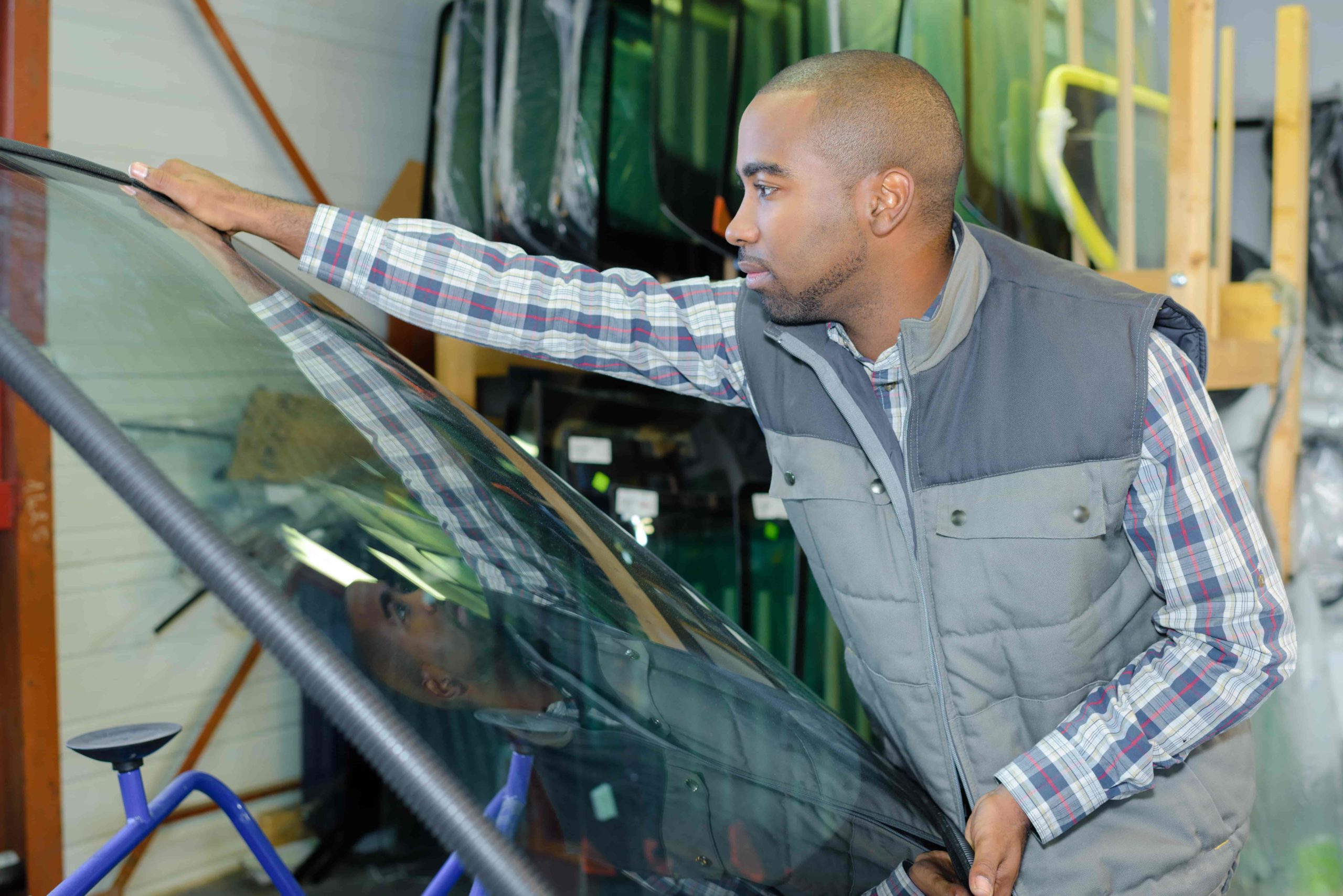 types of windshield glass