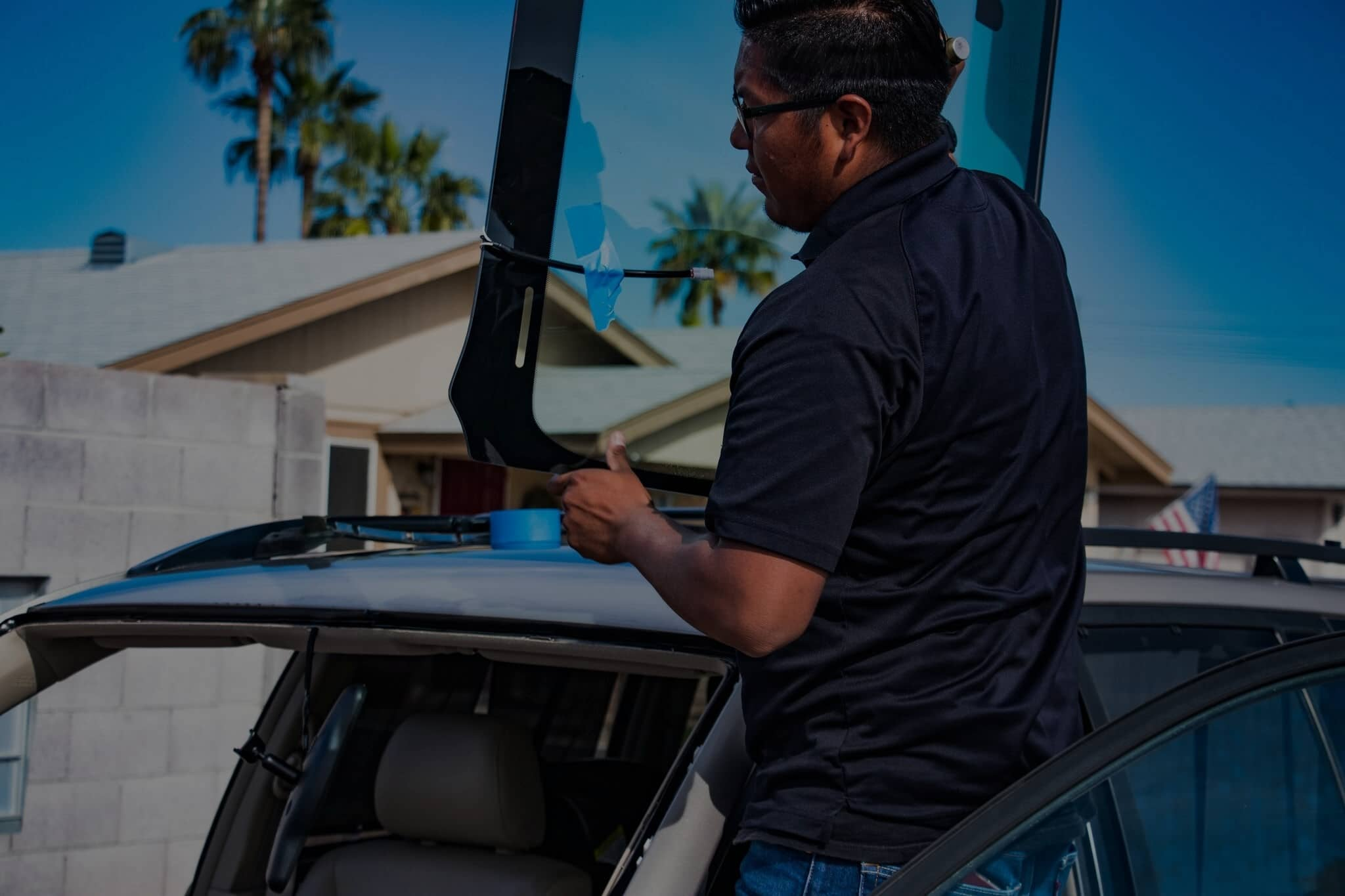 auto glass replacement cash back in phoenix metro area