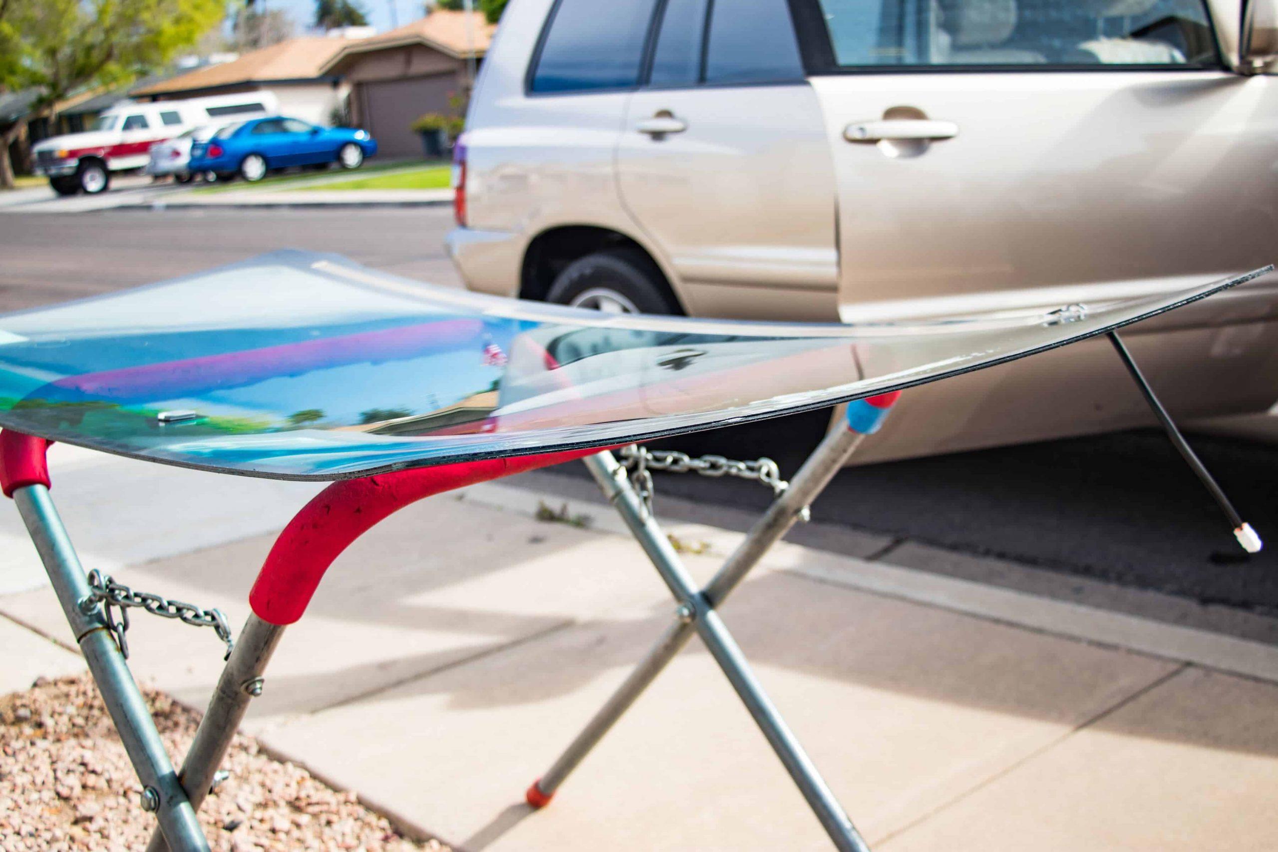 mobile windshield installation